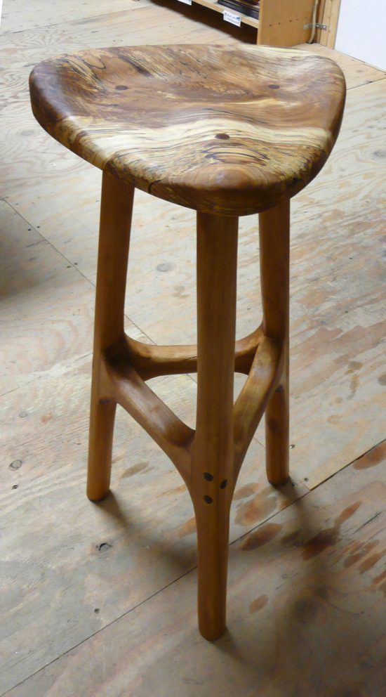 28 inch beechwood stool