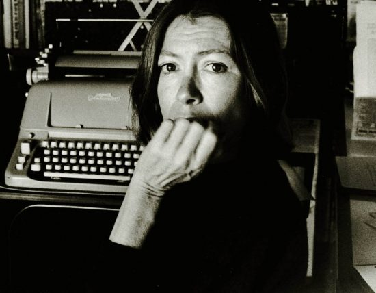 Photo of Joan Didion by Nancy Ellison