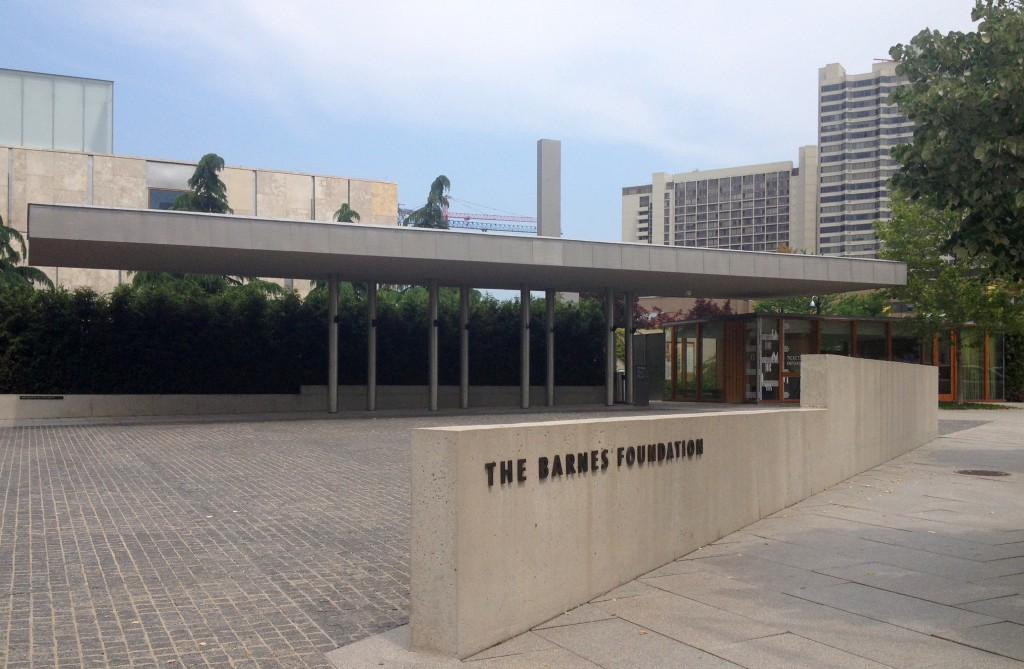 Photo of the Barnes Foundation in Philadelphia
