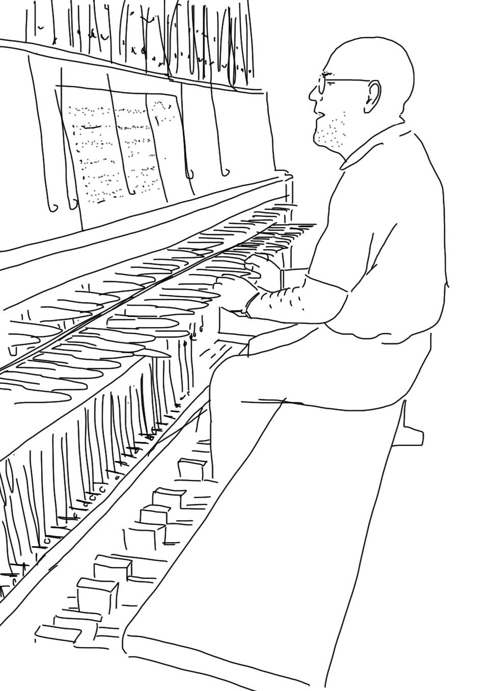 Carillonneur in Berlin Tiergarten