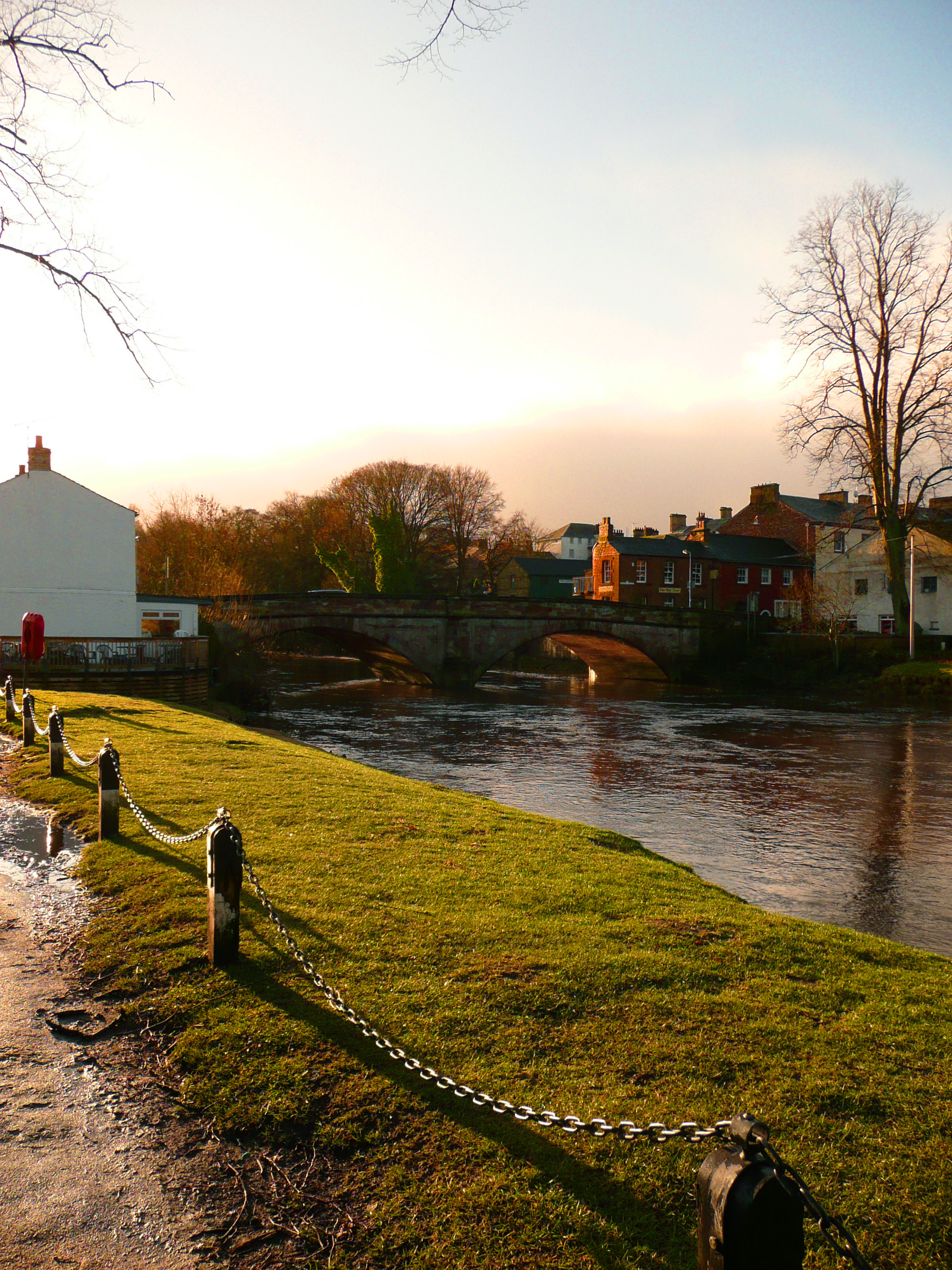 River Eden at sunrise, Appleby-in-Westmoreland