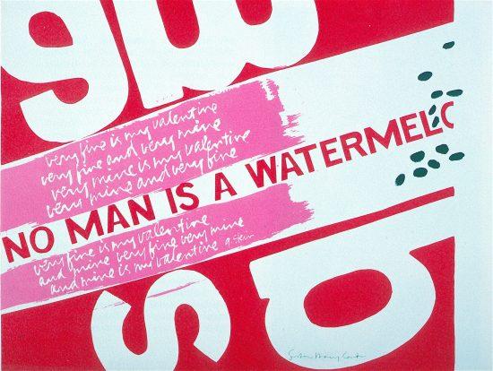 """watermelon"" by Sister Corita"