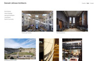 Screenshot of Dannatt Johnson Architects website
