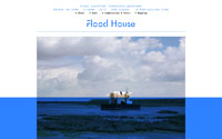 Screenshot of Flood House website