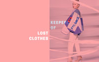 Screenshot of Keepers of Lost Clothes website