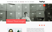 Screenshot of Third Angel website