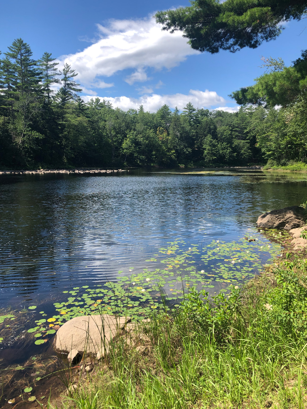 Ossipee River in Porter, Maine