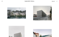Screenshot of Barozzi Veiga website