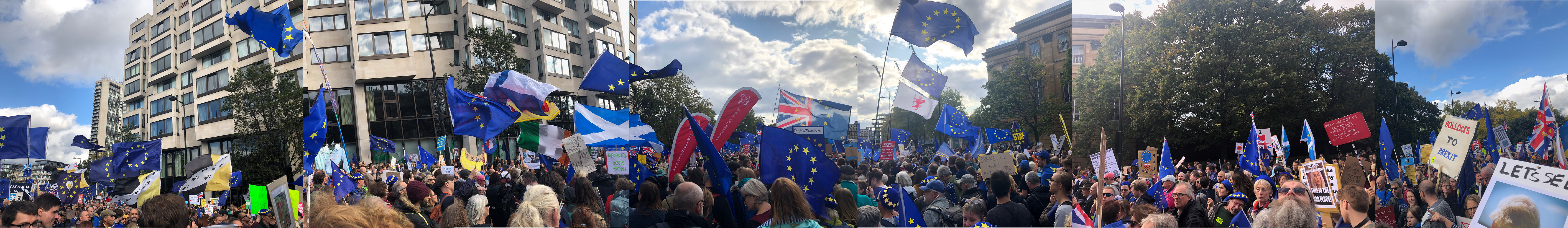 People's Vote march in London on 19 October 2019