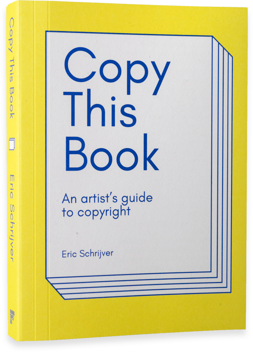 "Cover of ""Copy This Book"" by Eric Schrijver"