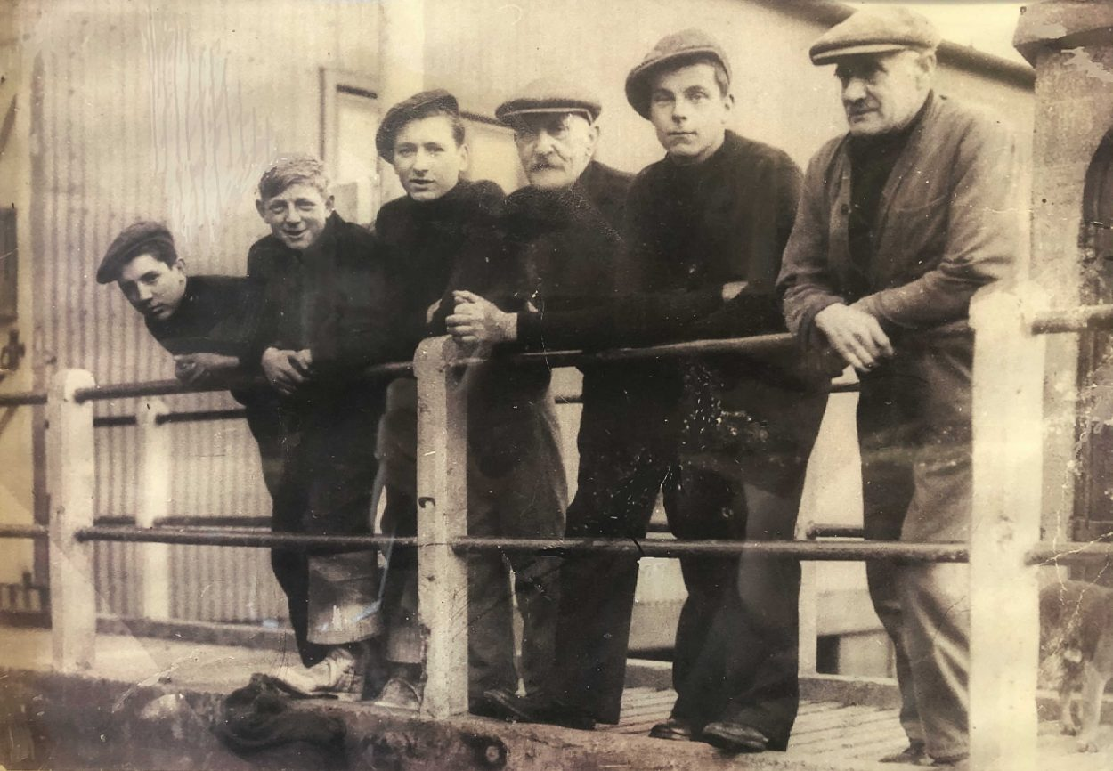 Young Whitby lifeboat crewmen