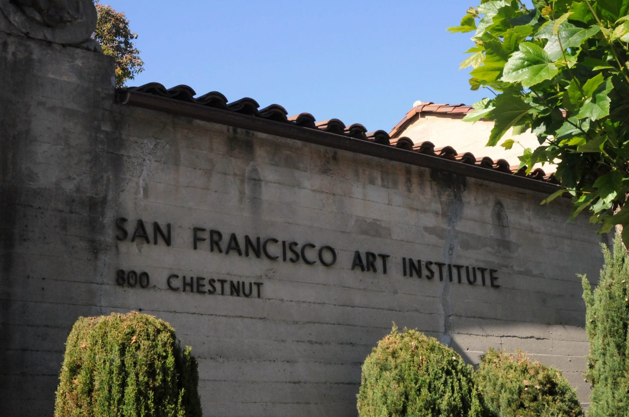 Facade of the San Francisco Art Institute