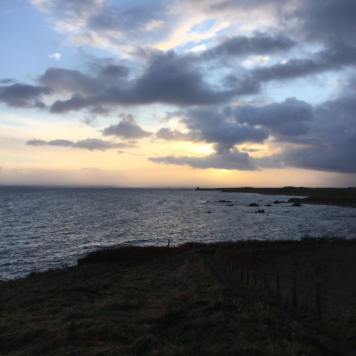 St Monans at sunset