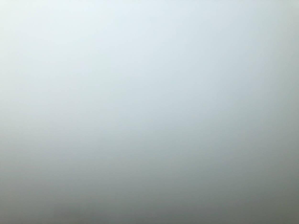 Thick bluish San Francisco smog