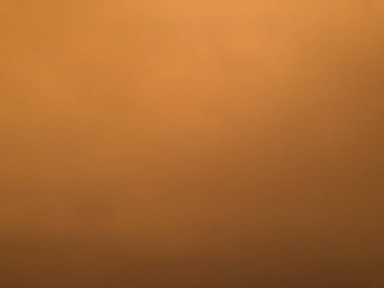 Photo of the orange smoke in San Francisco